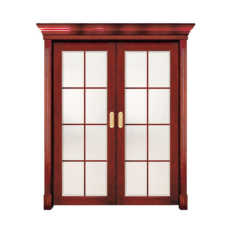 Interior modern style Cherry wood door GK010