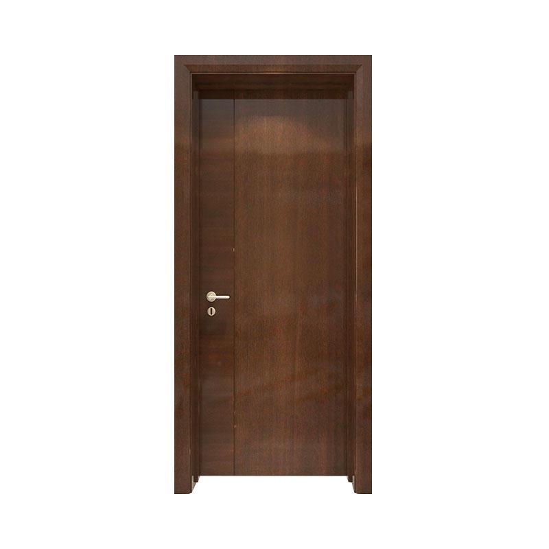 Simple design wood apartment door PP053