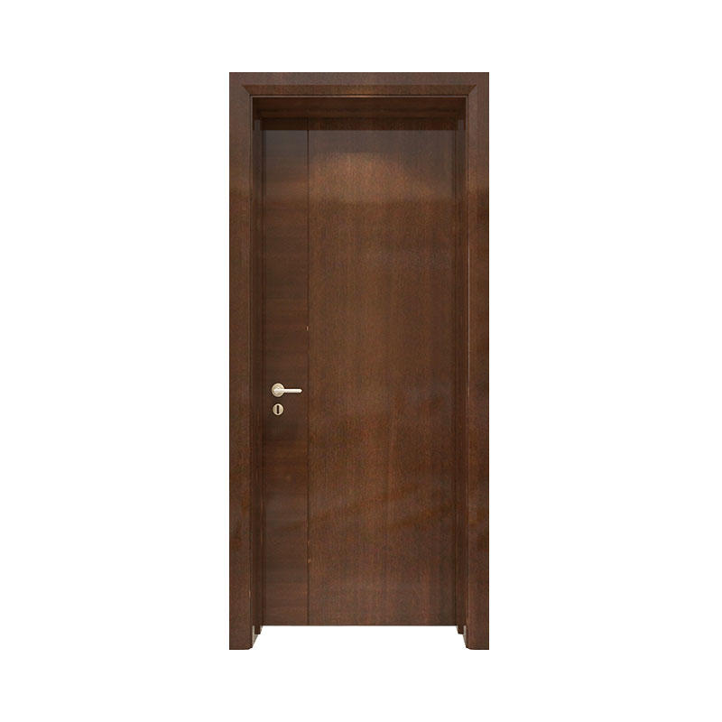Simple design wood apartment door PP053