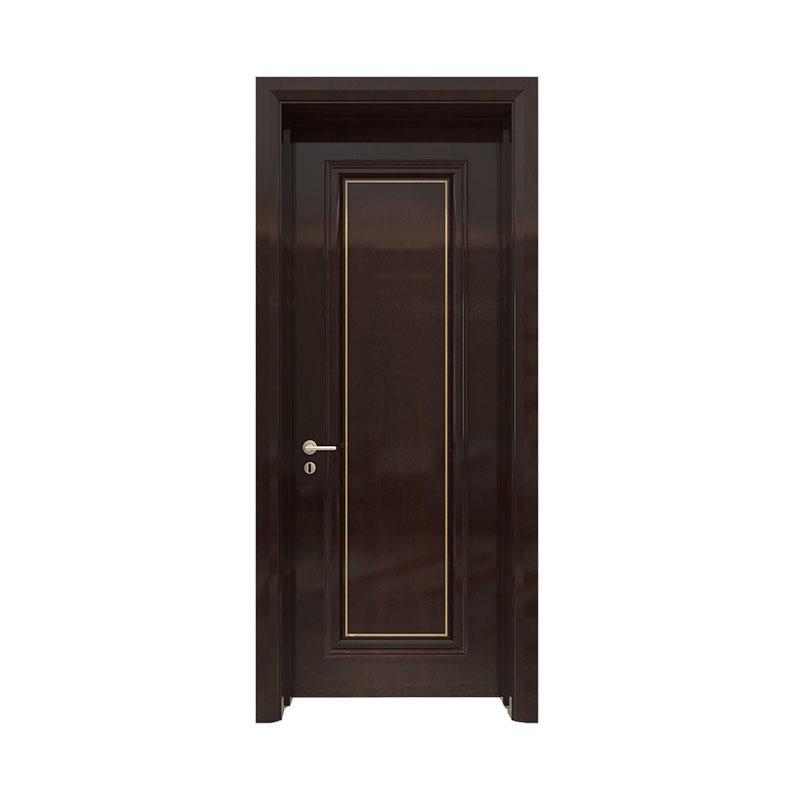 Interior wood simple design Sapele door GK015