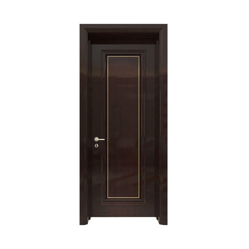 Interior wood simple design Sapele door GK015