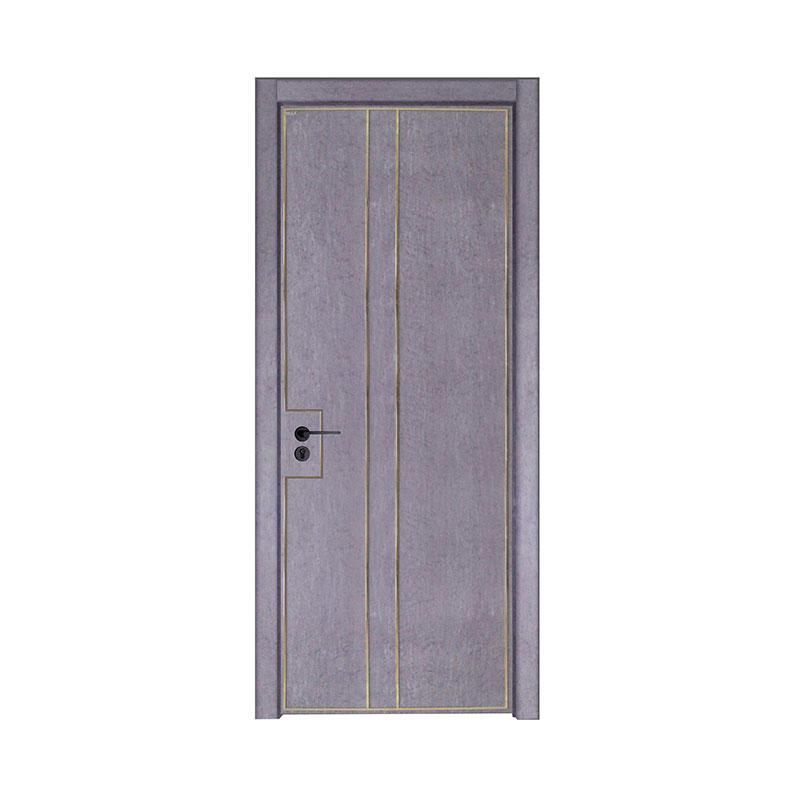 Silver Pear wooden interior simple design door PP045