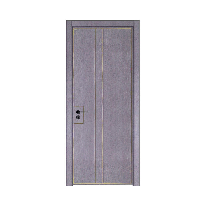 Silver Pear wooden interior simple design door PP045