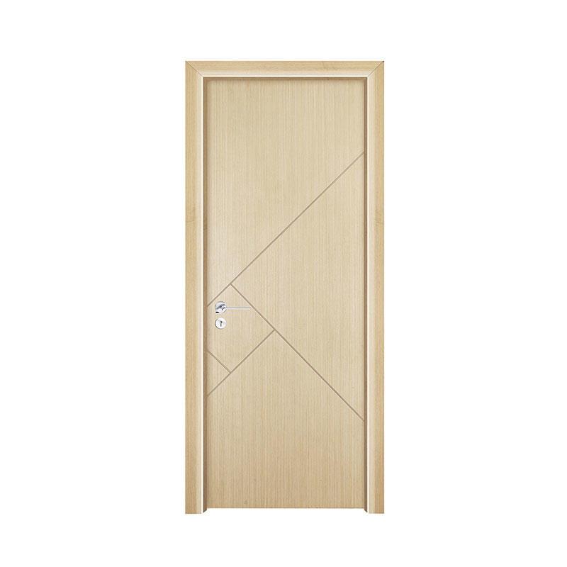 Silver Pear simple design wood hotel door PP028