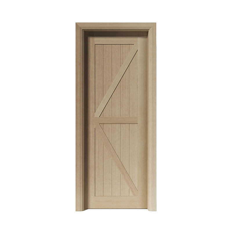 Silver Pear residential wood simple design door PP056