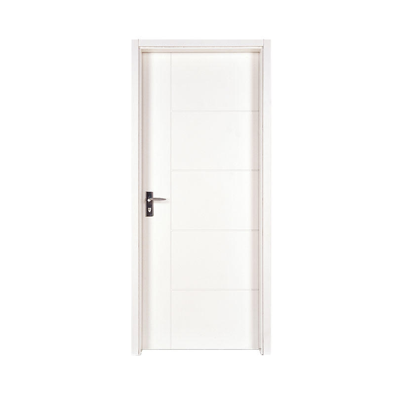 Smooth hotel wooden modern design door PP005