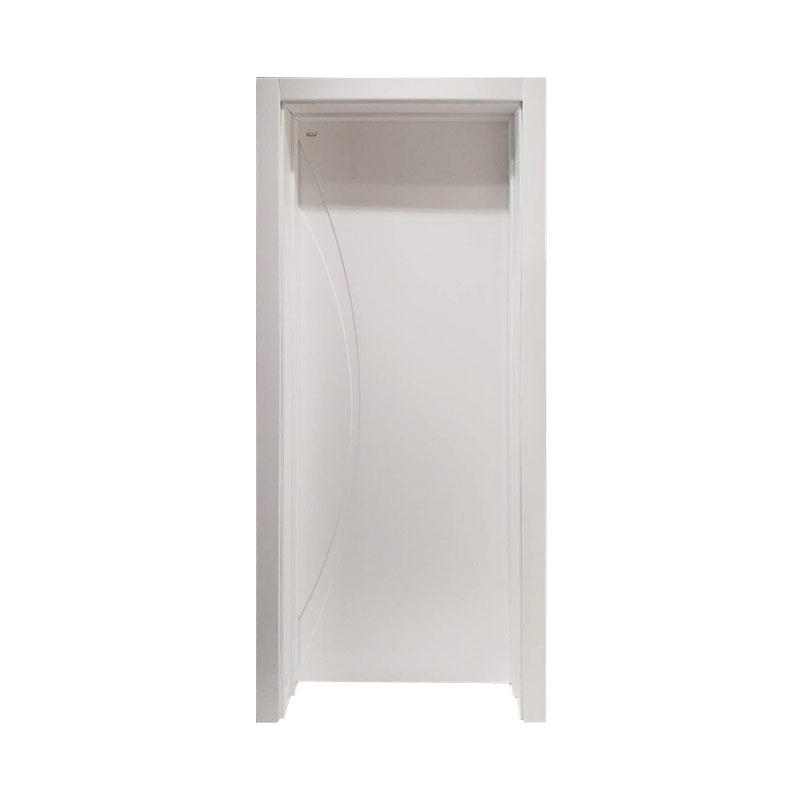 Modern design residential Smooth wooden door PP037