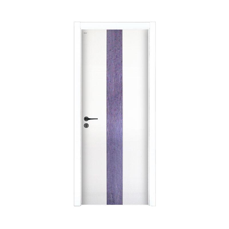 New design Smooth residential wood door PP043