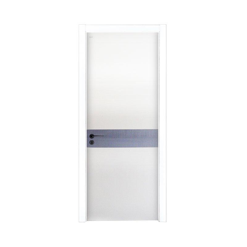 New design wood Smooth interior door PP044