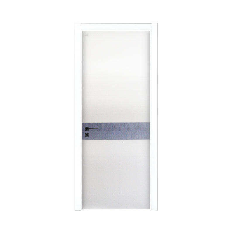 New design wood Smooth interior door PP044