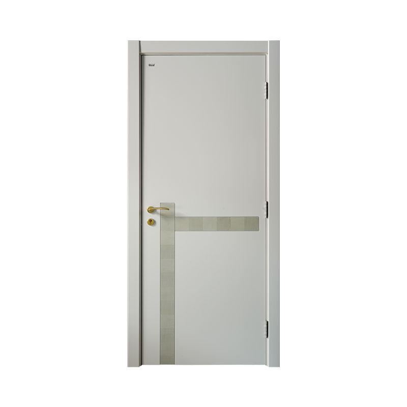 New design wooden interior Smooth door PP046