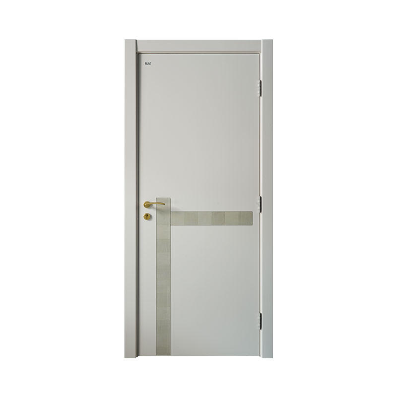 New design wooden interior Smooth door PP046