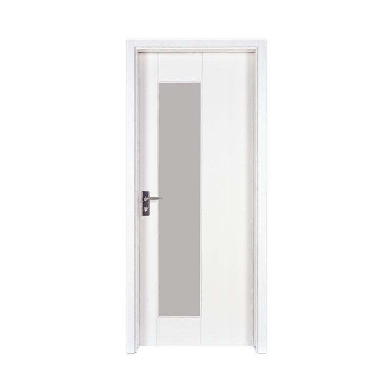Hotel Smooth simple style wood door PP007-3