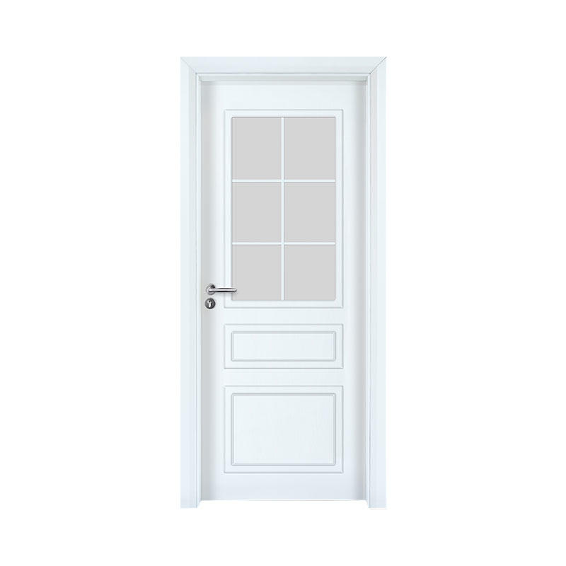 Smooth residential wooden latest design door GK002