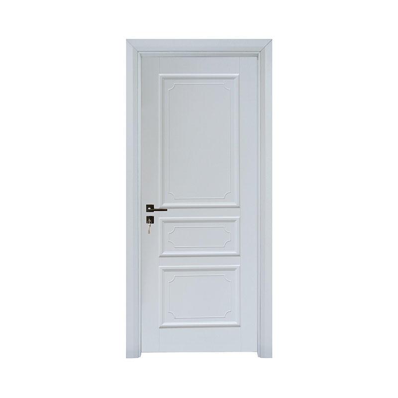 Latest design interior Smooth wood door PP040