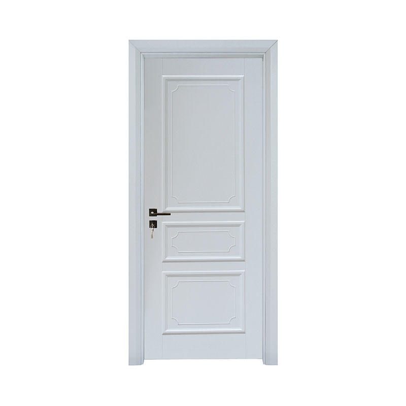 Latest design interior Smooth wood door PP040