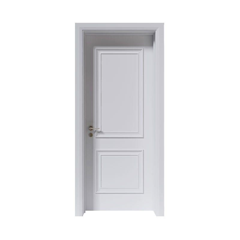 Smooth latest design wooden house door EKM05