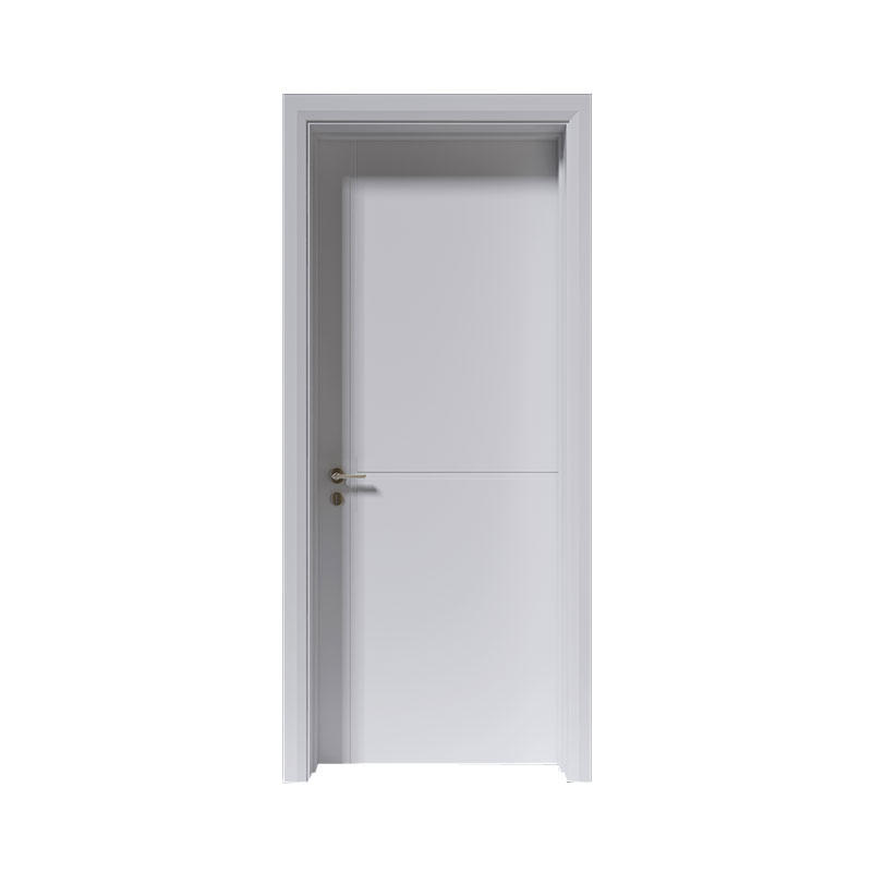 Interior wood simple style Smooth door PP055