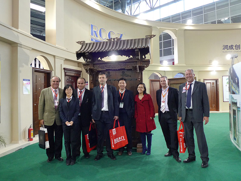 Runcheng Chuangzhan-China International Door Industry Exhibitioncide, March 2011