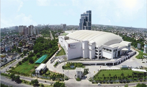 news-Runcheng Chuangzhan-RCCZ Exhibition Hall was settled in India BAZAAR-img