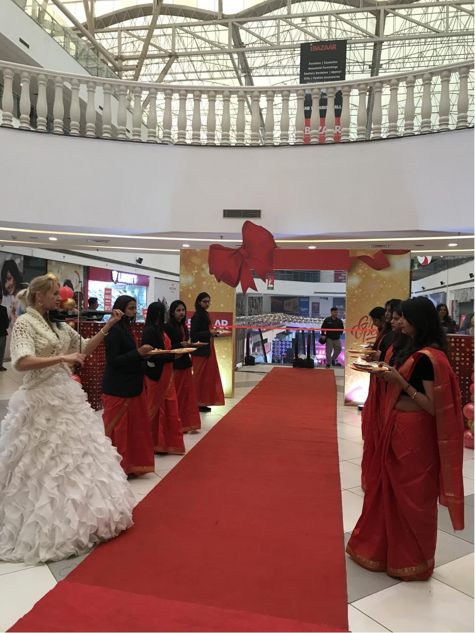 news-Runcheng Chuangzhan-RCCZ Exhibition Hall was settled in India BAZAAR-img-1
