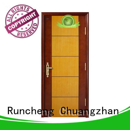 Runcheng Chuangzhan pure natural hardwood internal doors company for offices