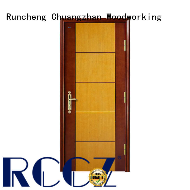 Runcheng Chuangzhan interior home doors Supply for indoor