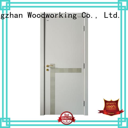 Runcheng Chuangzhan Custom single wood door design factory for hotels