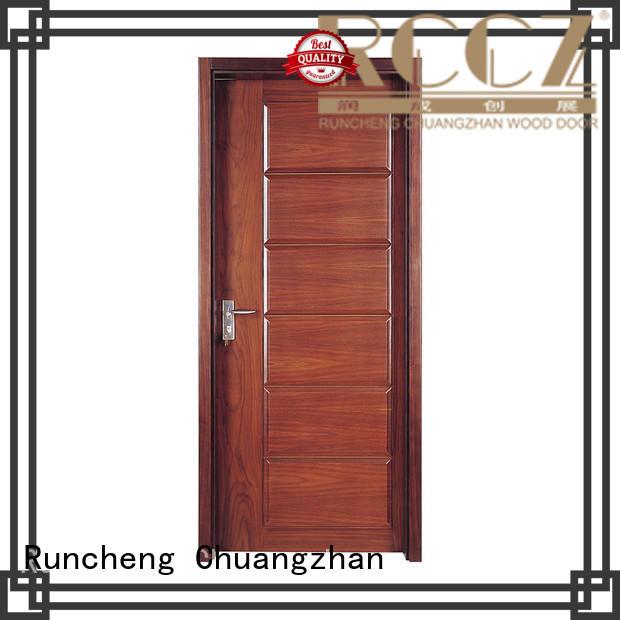 Latest solid hardwood doors exterior factory for indoor