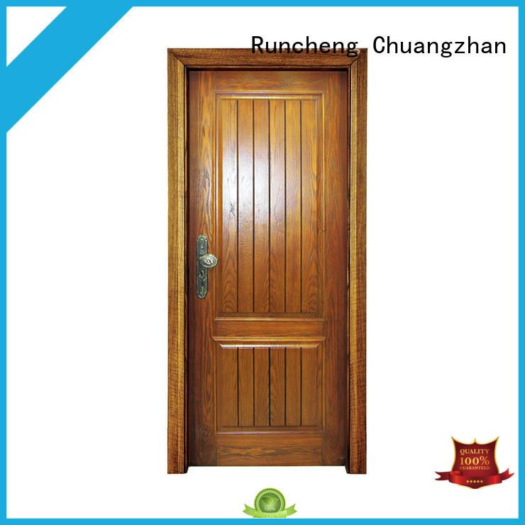 Runcheng Chuangzhan Top custom exterior doors suppliers for hotels