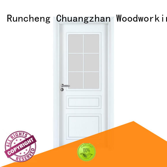 Runcheng Chuangzhan white painted internal doors manufacturers for offices