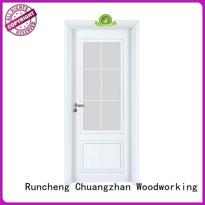 Runcheng Chuangzhan Latest paint interior wood doors suppliers for villas