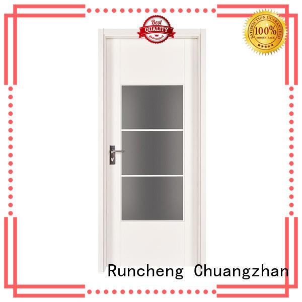 Runcheng Chuangzhan durability white painted internal doors Suppliers for villas