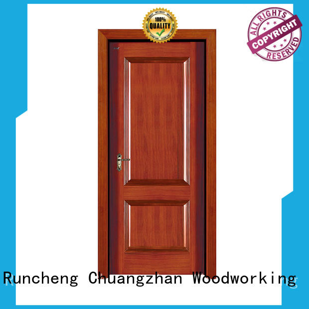 Runcheng Chuangzhan reliable custom solid wood doors factory for hotels