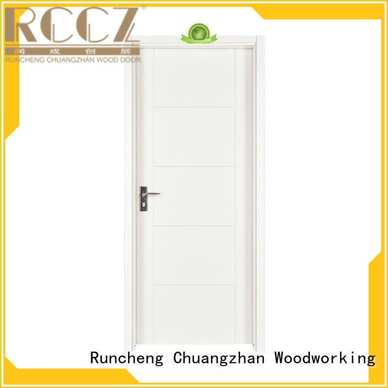 Runcheng Chuangzhan white painted internal doors Supply for villas