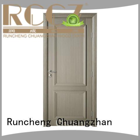 Runcheng Chuangzhan new interior wooden doors Supply for indoor