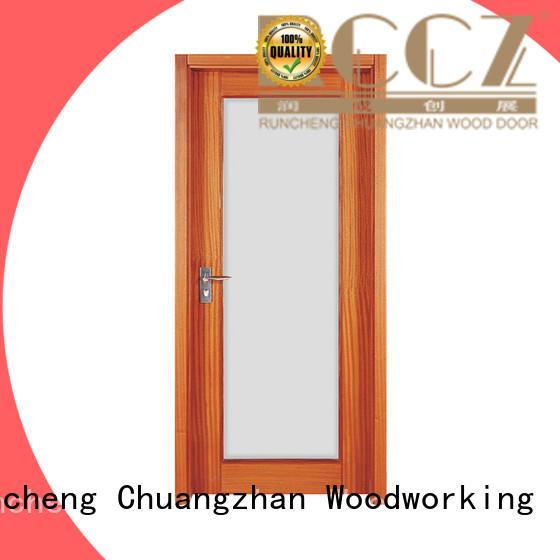durable modern wood door for business for indoor
