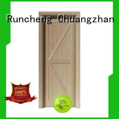 Runcheng Chuangzhan interior veneer doors factory for homes