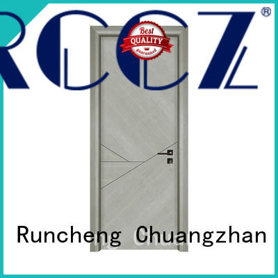 Runcheng Chuangzhan New real wood interior doors manufacturers for homes