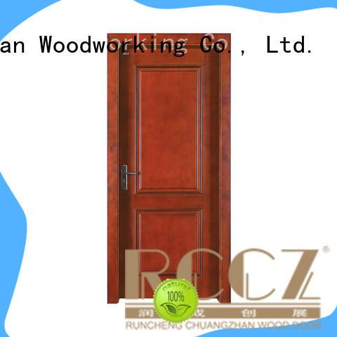 Runcheng Chuangzhan custom solid wood interior doors Suppliers for villas
