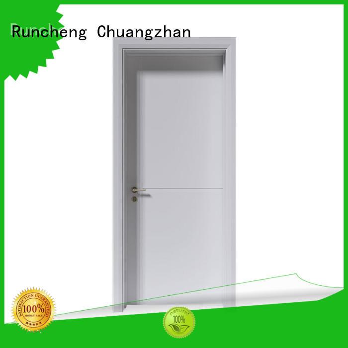 Runcheng Chuangzhan popular painting internal doors manufacturers for villas