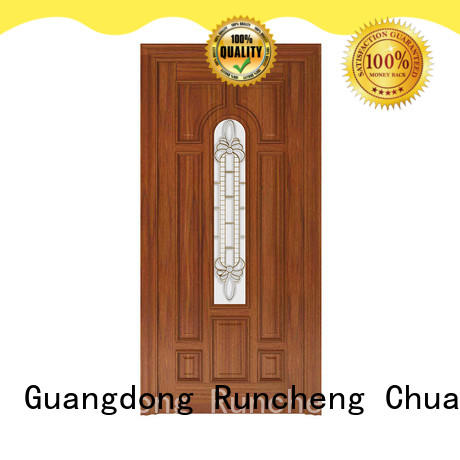 Runcheng Chuangzhan stylish glass wooden door manufacturers for offices