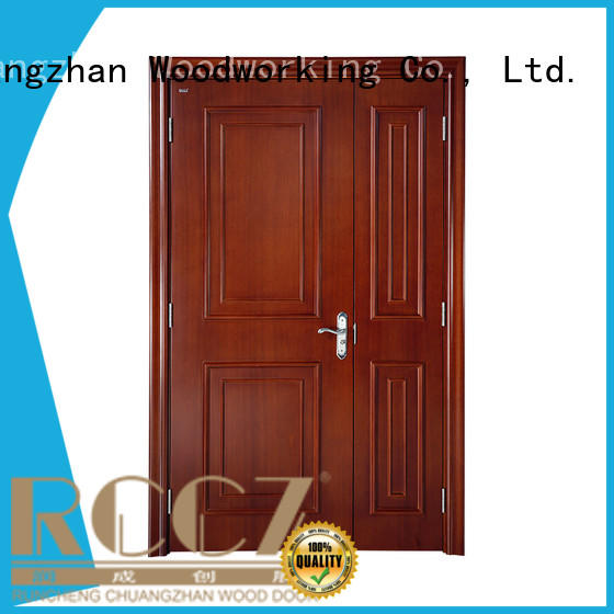 Runcheng Chuangzhan reliable solid hardwood doors exterior for business for indoor