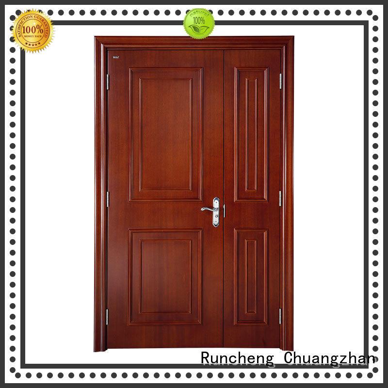 Runcheng Chuangzhan New solid wood doors manufacturers for villas