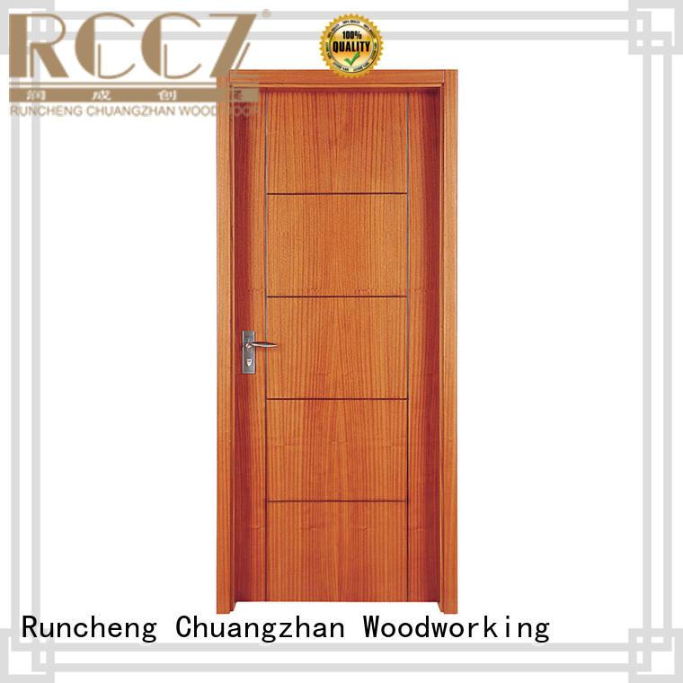 Runcheng Chuangzhan eco-friendly custom wood interior doors company for villas