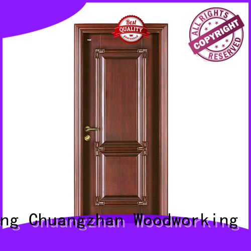 Runcheng Chuangzhan external wooden doors for business for hotels