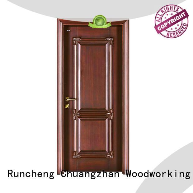 top quality solid wood front doors manufacturers for indoor