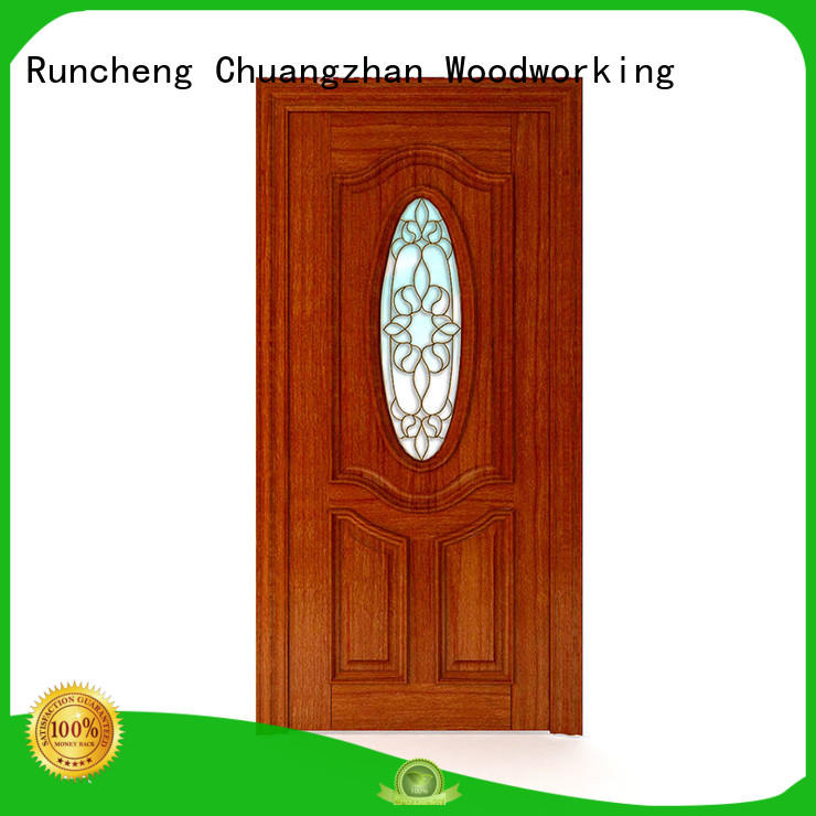 simple wooden door style for business for hotels