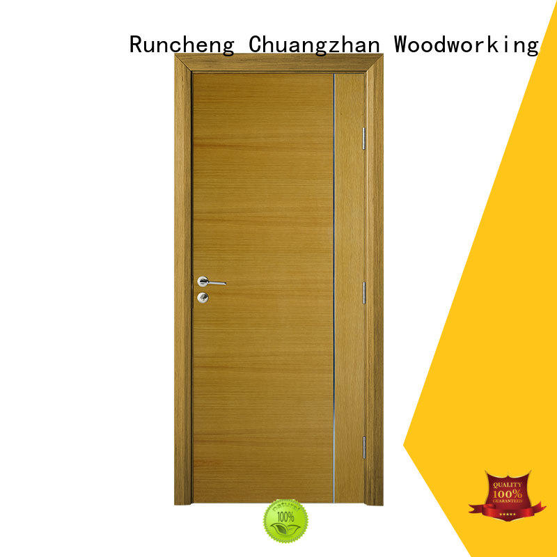Runcheng Chuangzhan real wood interior doors Supply for homes