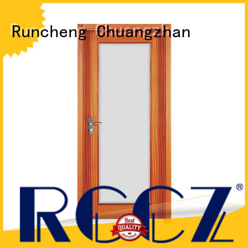 Runcheng Chuangzhan solid wood internal doors manufacturers for indoor